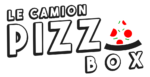 Logo pizza box le camion - neuille-pont-pierre